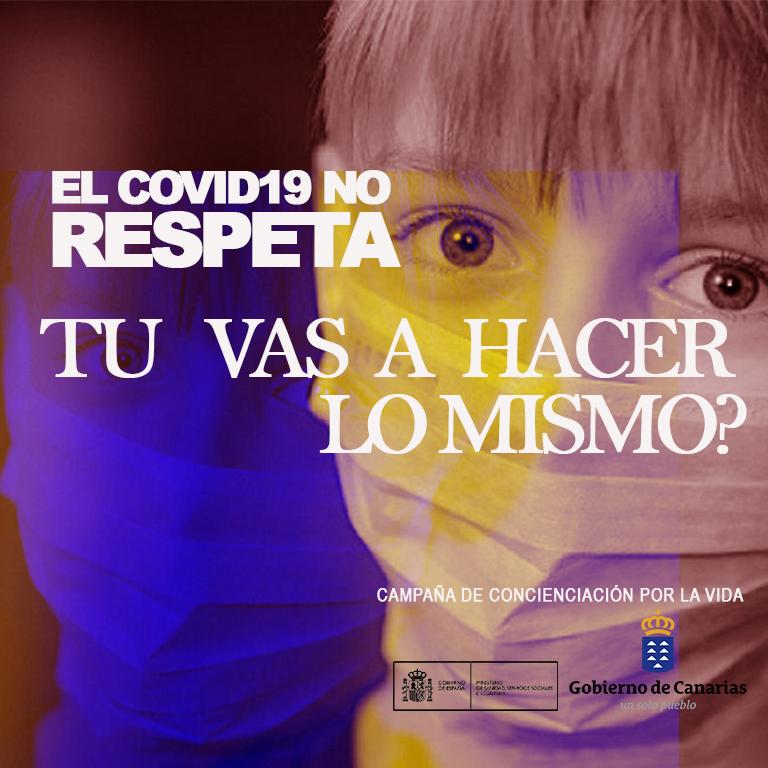 Campaña de concienciación CONTRA EL COVID19